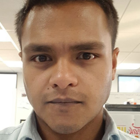 Team member named Deshan Gamage